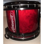 Andante Reactor Snare Drum Black/Red Lacquer