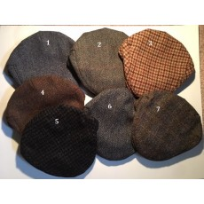 Harris Tweed County Caps