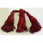 Silk Pipe Cords, one colour