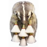 Badger Full Mask 6 Tassel Military Sporran